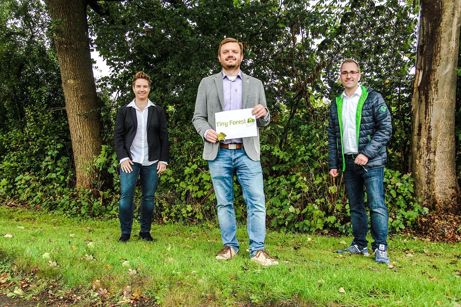 CO2-Bindung für den Klimaschutz, Projekt Tiny Forest