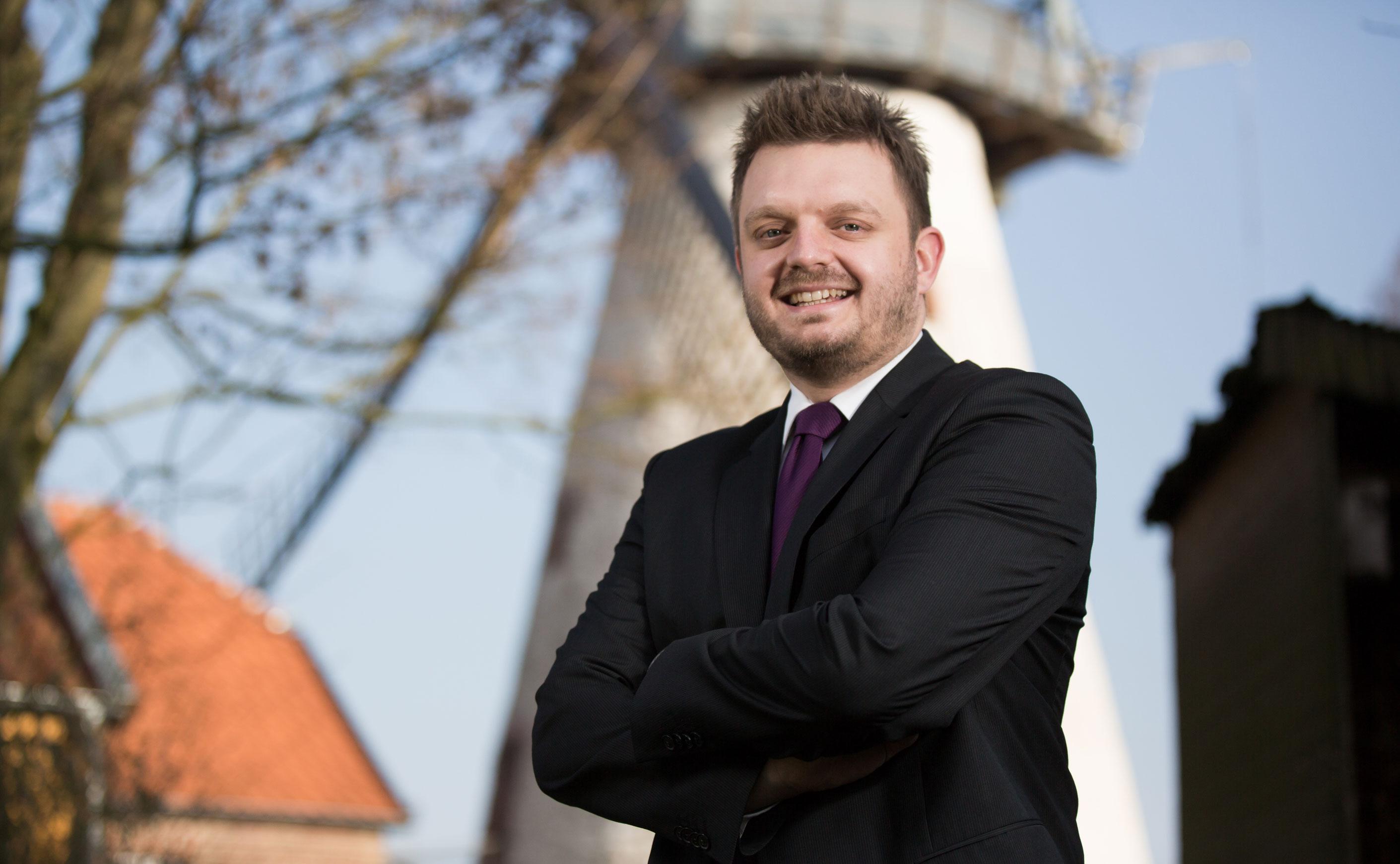 """Fraktionsvorsitzender Michael Schönbeck: """"Der Erhalt der derzeitigen Struktur ist das Beste für den Kreis Herford und die Initiative Wirtschaftsstandort Kreis Herford e.V. (IWKH)"""""""