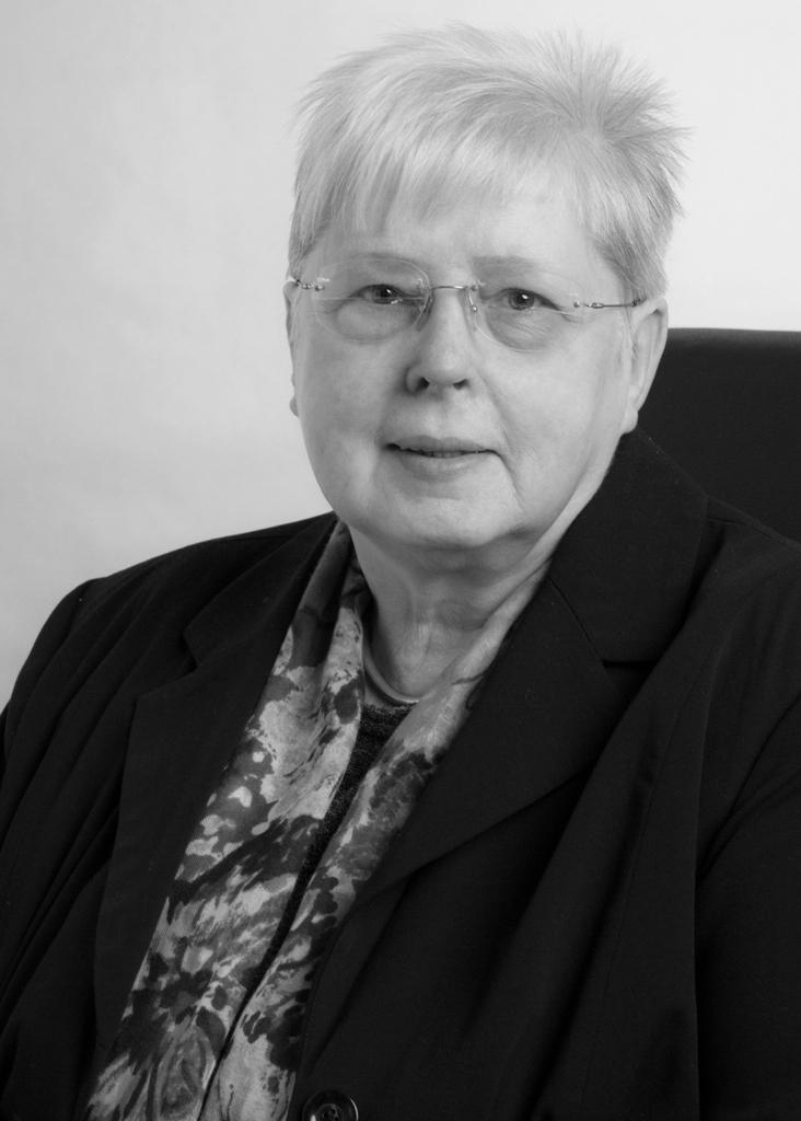 Gudrun Schliebener verstarb am vergangenen Wochenende